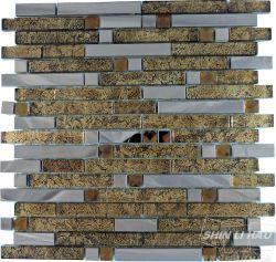長短混拼金屬石材色(單顆尺寸:1.5x4.8x0.8CM + 1.5x9.8x0.8CM)