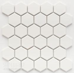六角質感霧白