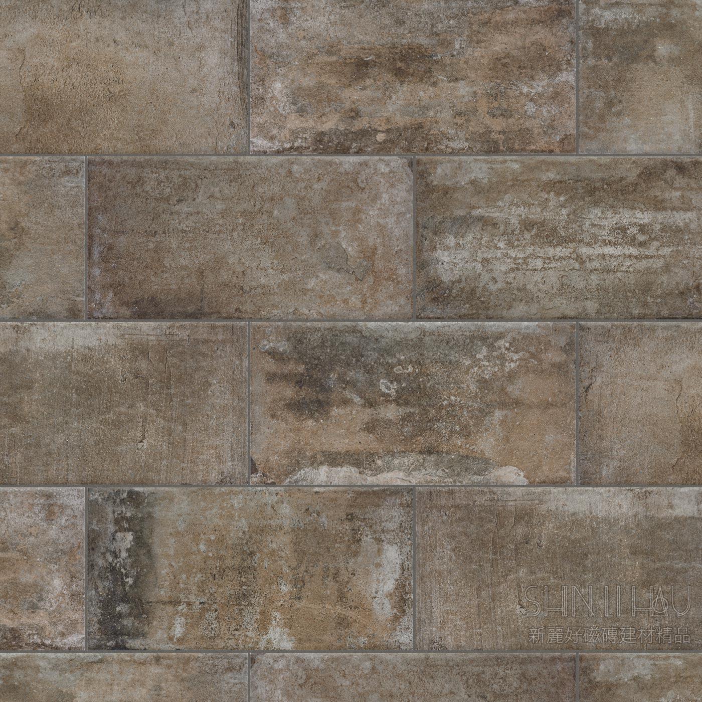 英伦情怀-工业风老砖,文化石,红砖,水泥砖,锈砖,古堡砖 - 迷迭黑