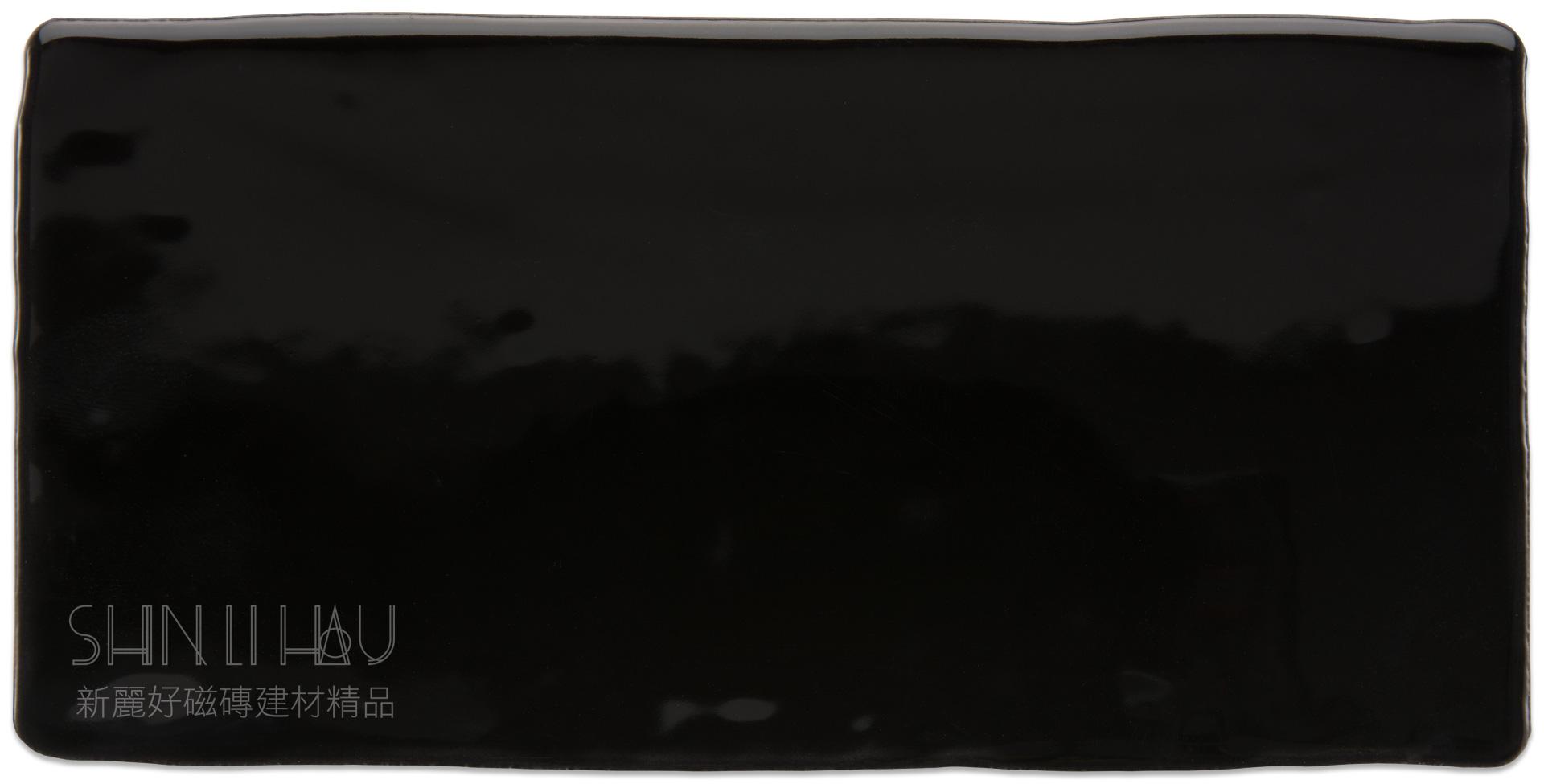沉韻 復古邊地鐵磚 - 宙空黑