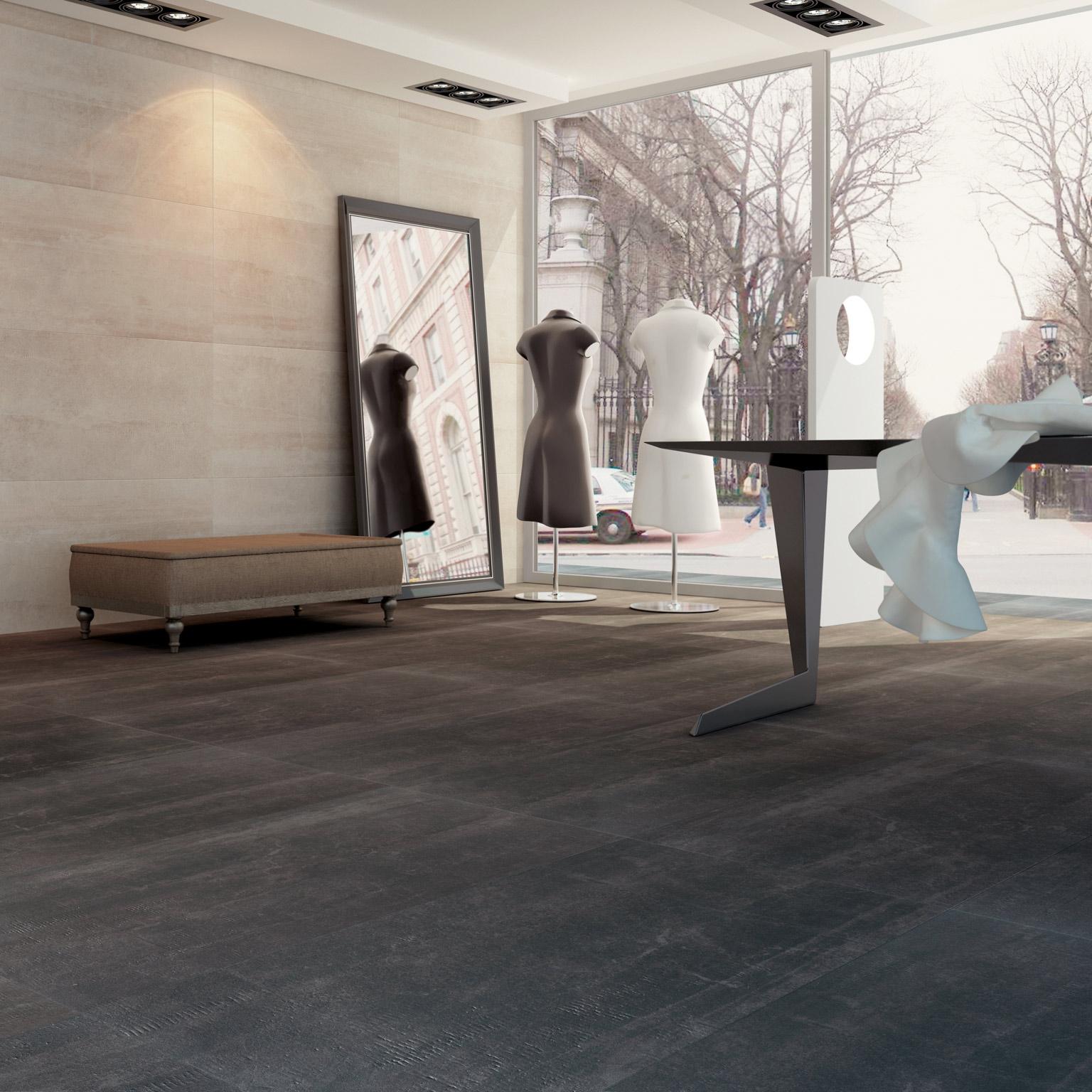 境亞-大尺寸石板磚【全系列下殺特賣!每坪4500元有找】 - 黑色