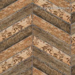 木石棕花磚